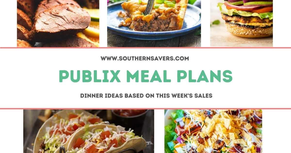 publix meal plans 7/14