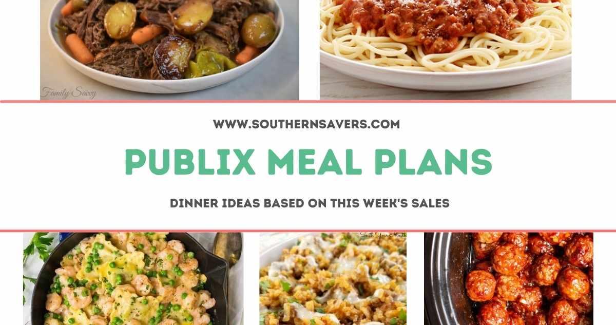publix meal plans 7/21