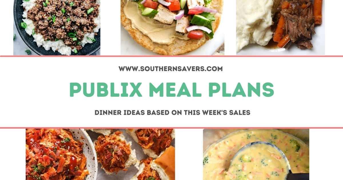 publix meal plans 7/28
