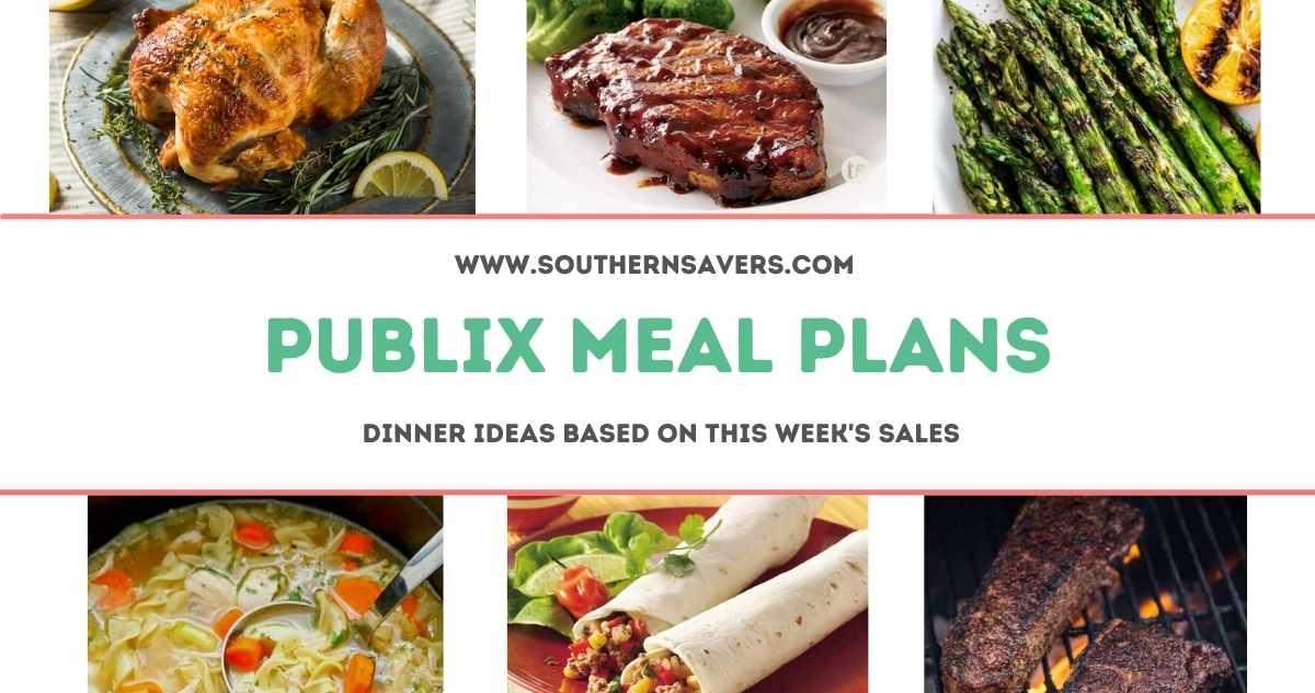 publix meal plans 7/7