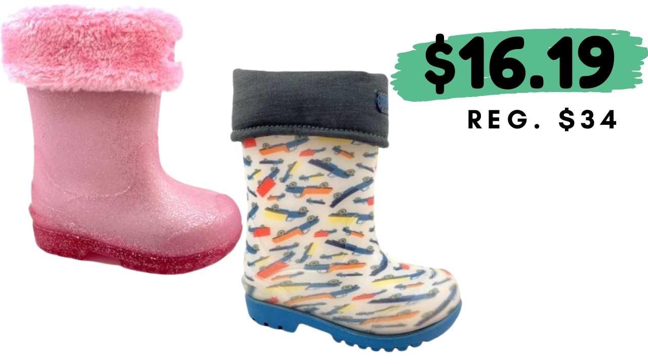 stride rite rain boots