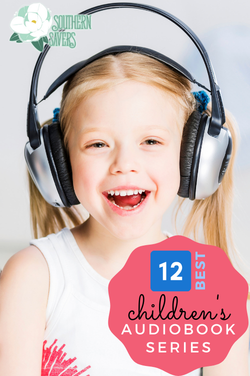 Listening to books is a great way to kill time on a rainy day or in the car. Here are 12 of the best children's audiobook series!