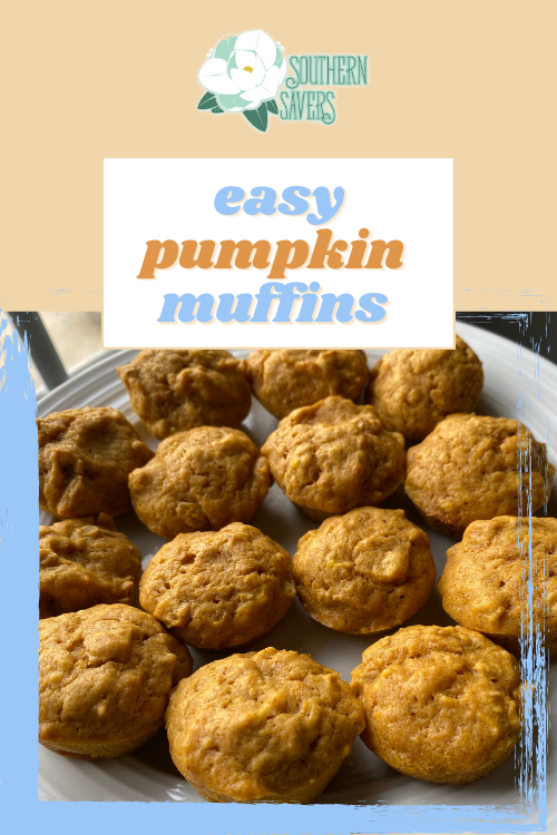 These easy pumpkin oat muffins are not only low in sugar, they are perfect for breakfast or a delicious after school snack!