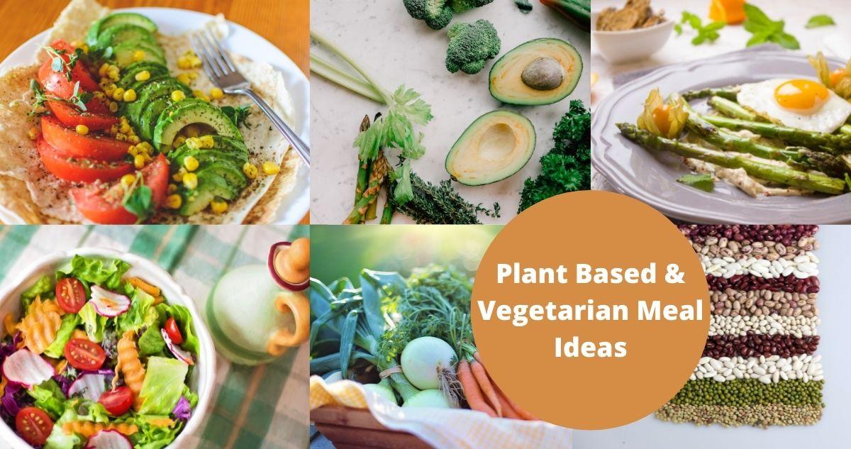 Plant Based & Vegetarian Meal Ideas