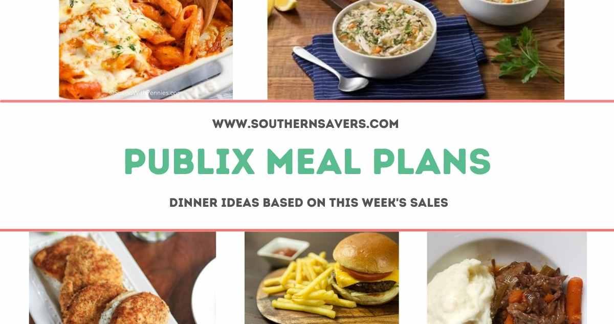 publix meal plans 8/18