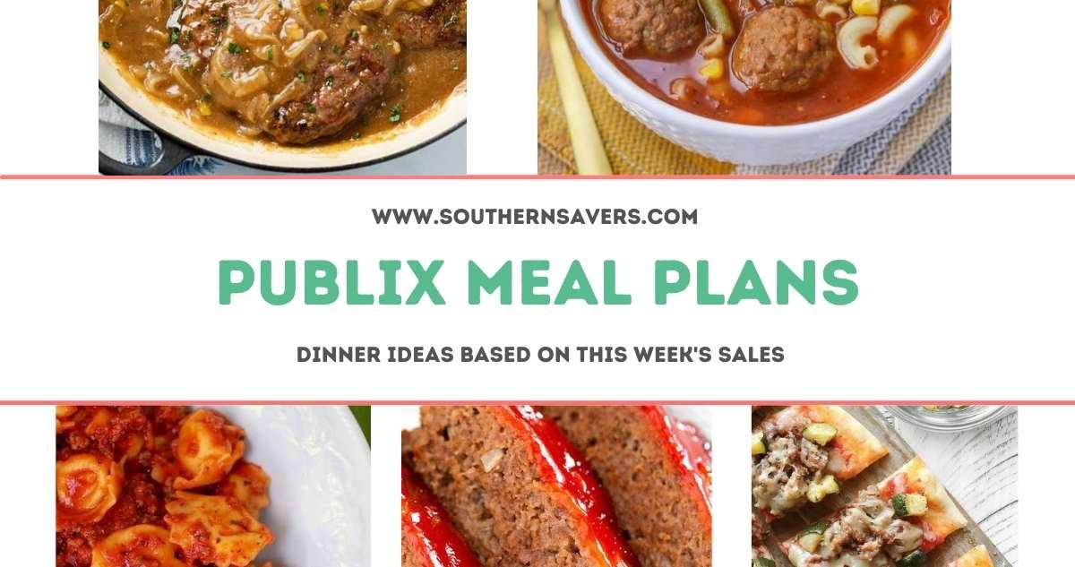 publix meal plans 8/4