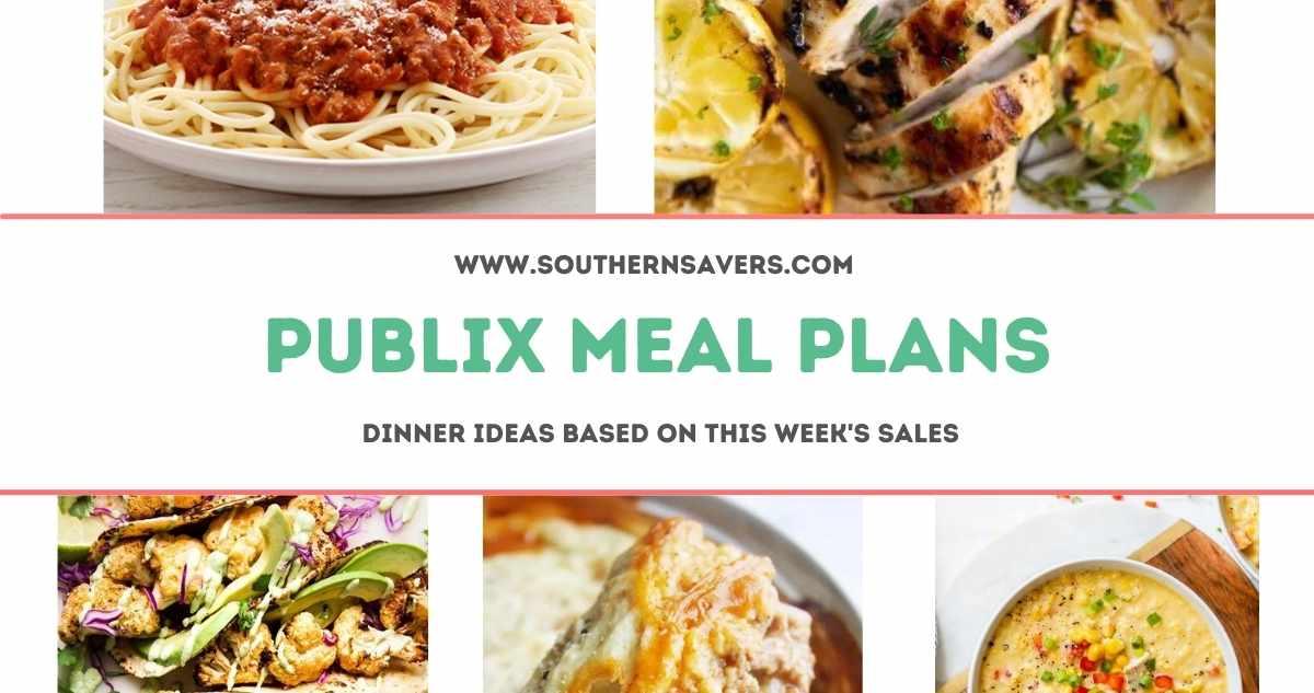 publix meal plans 9/1