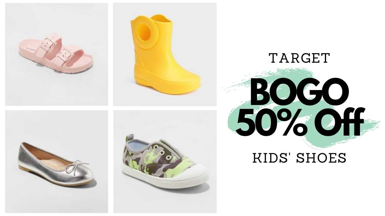 target kids' shoes