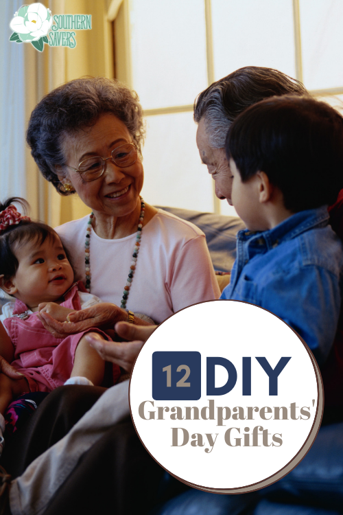 You can give Grandma and Grandpa a meaningful gift that you (and your kids) make yourself! Here are 12 DIY Grandparents Day Gifts.