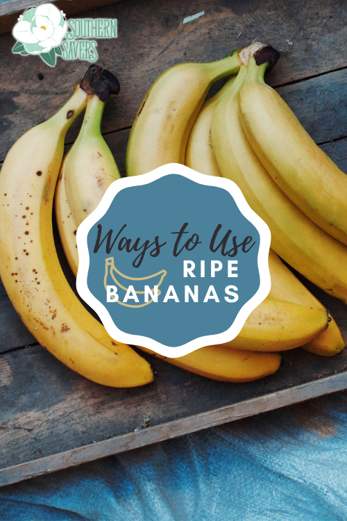 All of us have probably had a bunch of ripe bananas in our kitchen at some point. Here are my favorite ways to use ripe bananas!
