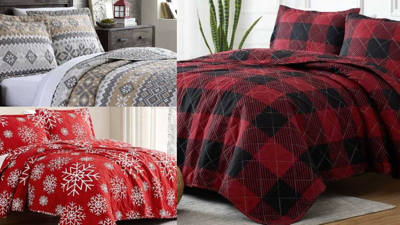 zulily christmas quilts