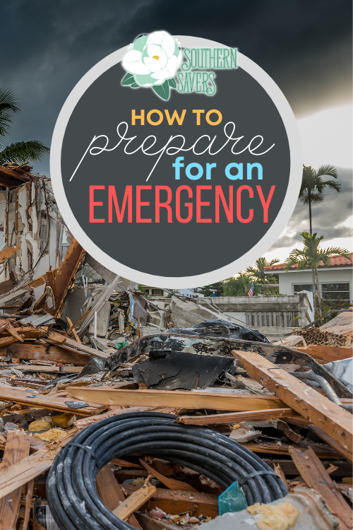No matter what kind of weather threats you may face, it's always good to be prepared. Here are my tips on how to prepare for an emergency!