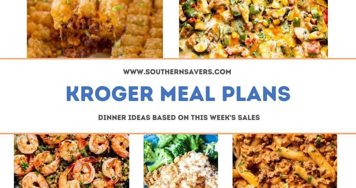 kroger meal plans 9/22