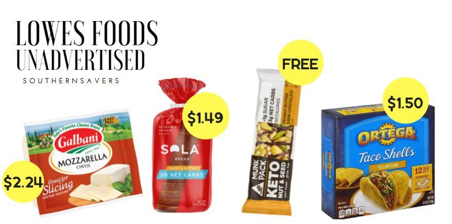 lowes foods unadvertised deals