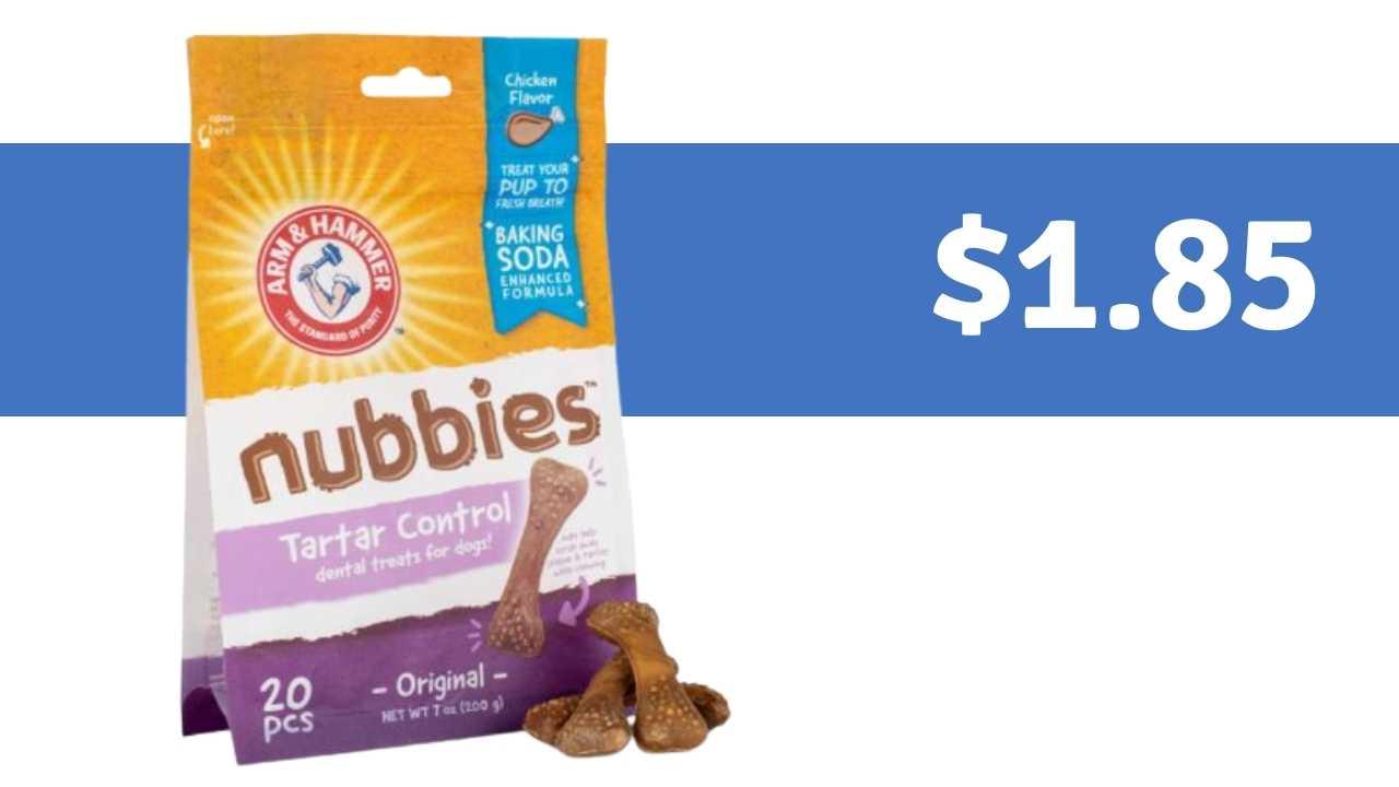 nubbies dog treats