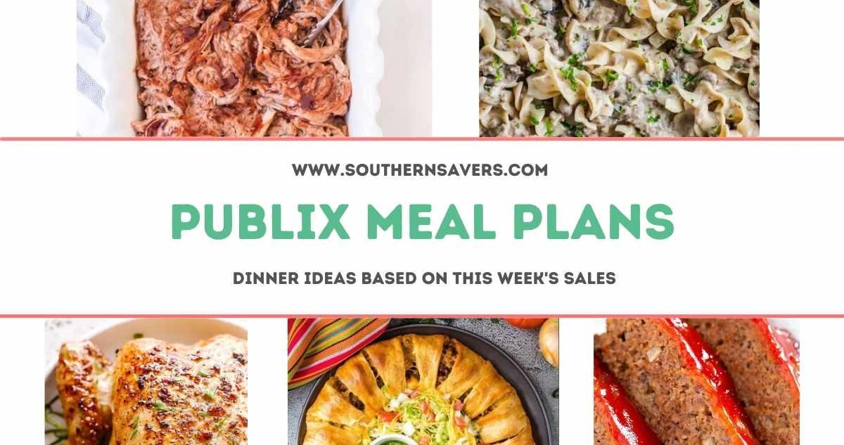 publix meal plans 9/15