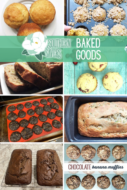 Boxed mixes are cheap if you're wanting to do some baking, but homemade doesn't have to be complicated. Here are my favorite baked goods recipes to make!