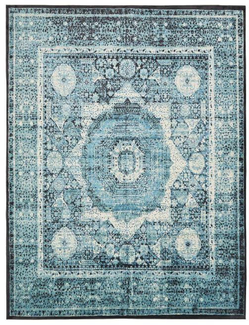 turqouoise rug