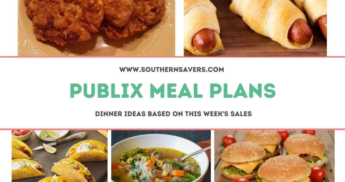 publix meal plans 10/13