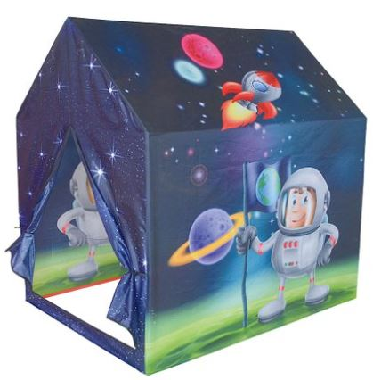 space pop up tent