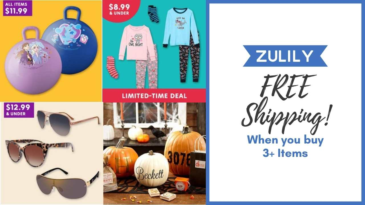 zulily free shipping